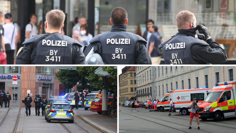 Napad nožem u Njemačkoj: Ubijeno troje ljudi, 15 ozlijeđenih, napadač upucan