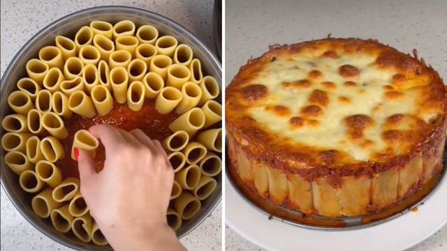 Torta od tjestenine: Prelako, brzo i odlično za cijelu obitelj!