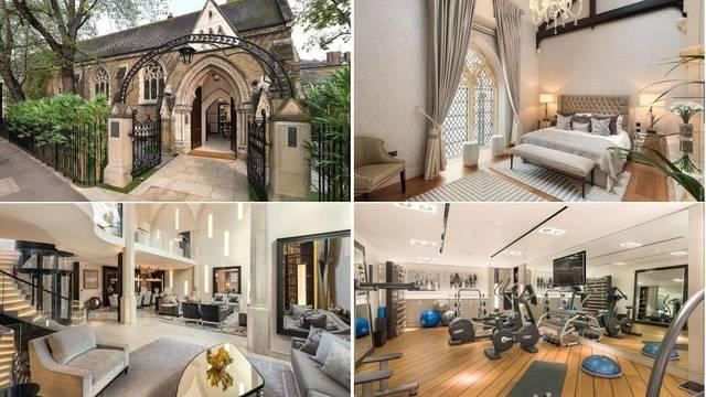 Crkvu sa sedam spavaćih soba, saunom, teretanom i bazenom prodaju za 'bogovsku cijenu'