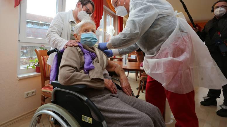 Štićenica (101) doma za starije prva se cijepila u Njemačkoj