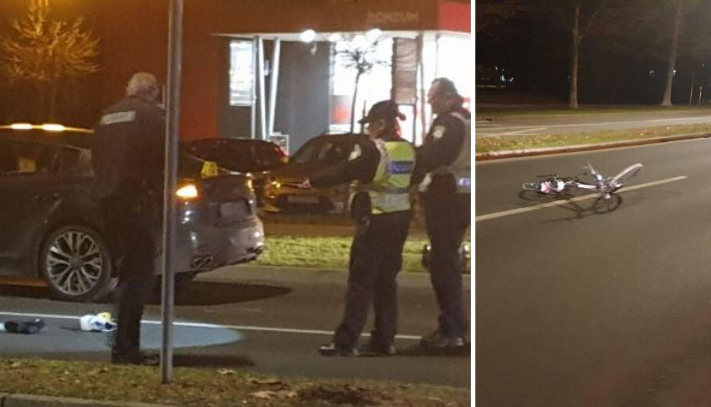 Dijete u sjedalici bez ozljeda u naletu auta, žena slomila nogu