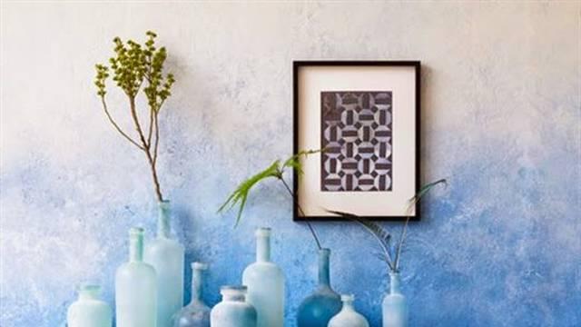 Igrajte se: Za dinamičan prostor jedan zid stana obojite spužvom