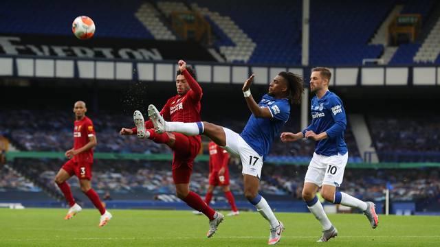 Liverpool v Everton, Premier League.