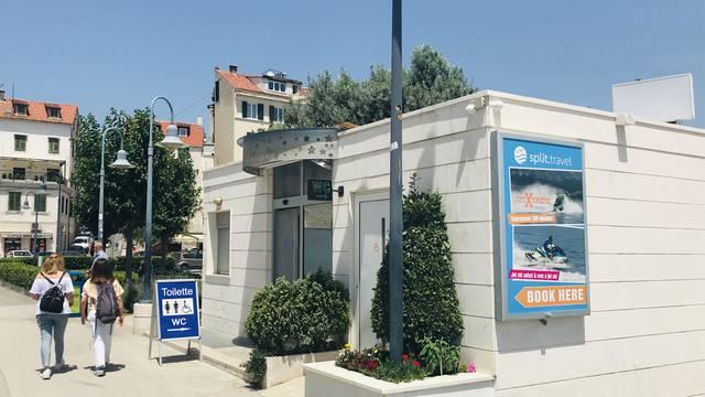 Sad ste zas*ali: WC u Splitu je bankomat i turistička agencija