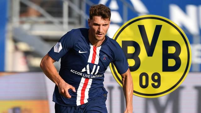 Thomas MEUNIER (PSG) changes to Borussia Dortmund.