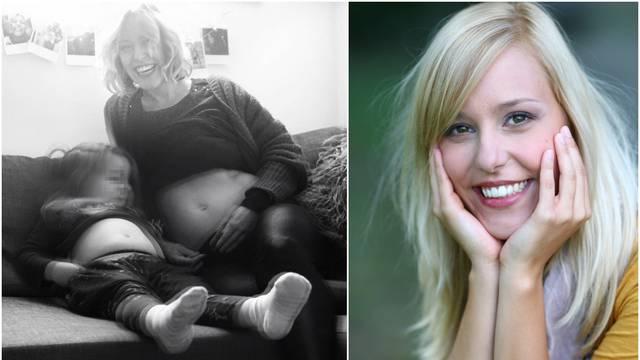 Petra Cicvarić je trudna: 'Kći i dalje ima veći trbuh od mene'