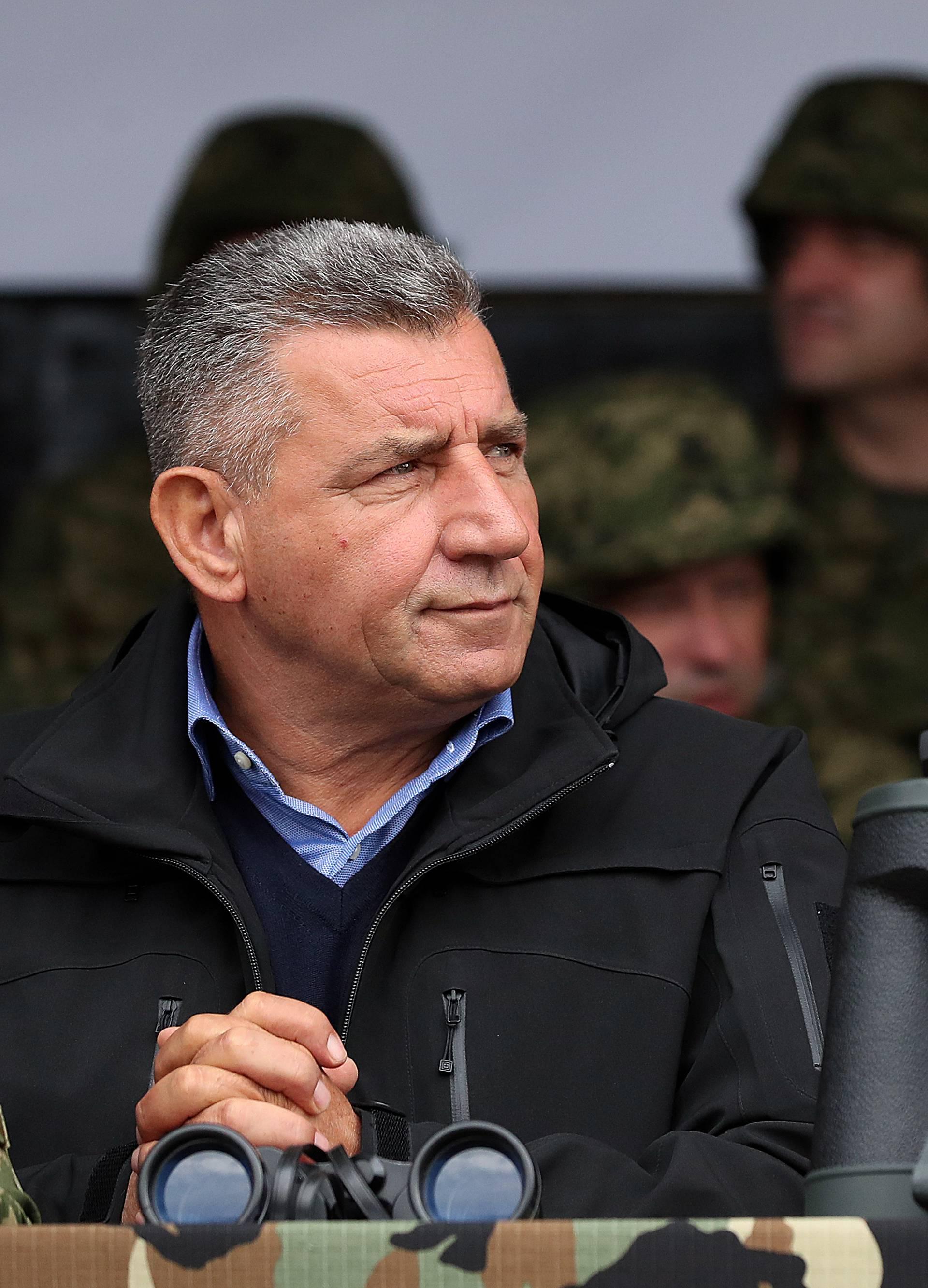 Slunj: Gotovina, Markač i Krstičević nazočili vojnoj vježbi Velebit 18