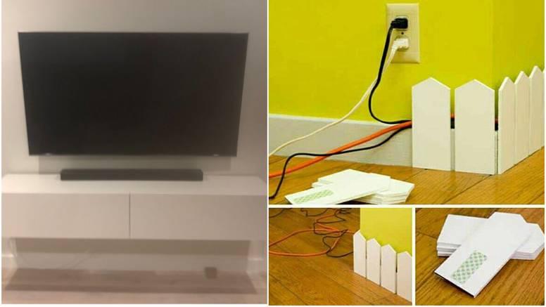 Top ideje za sakrivanje kablova: U postolju TV-a ili u ladicama