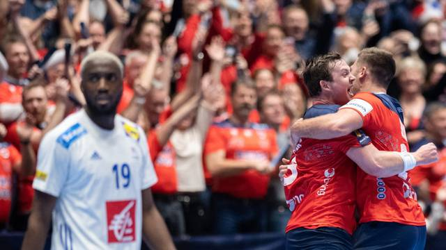 Handball EM: France - Norway