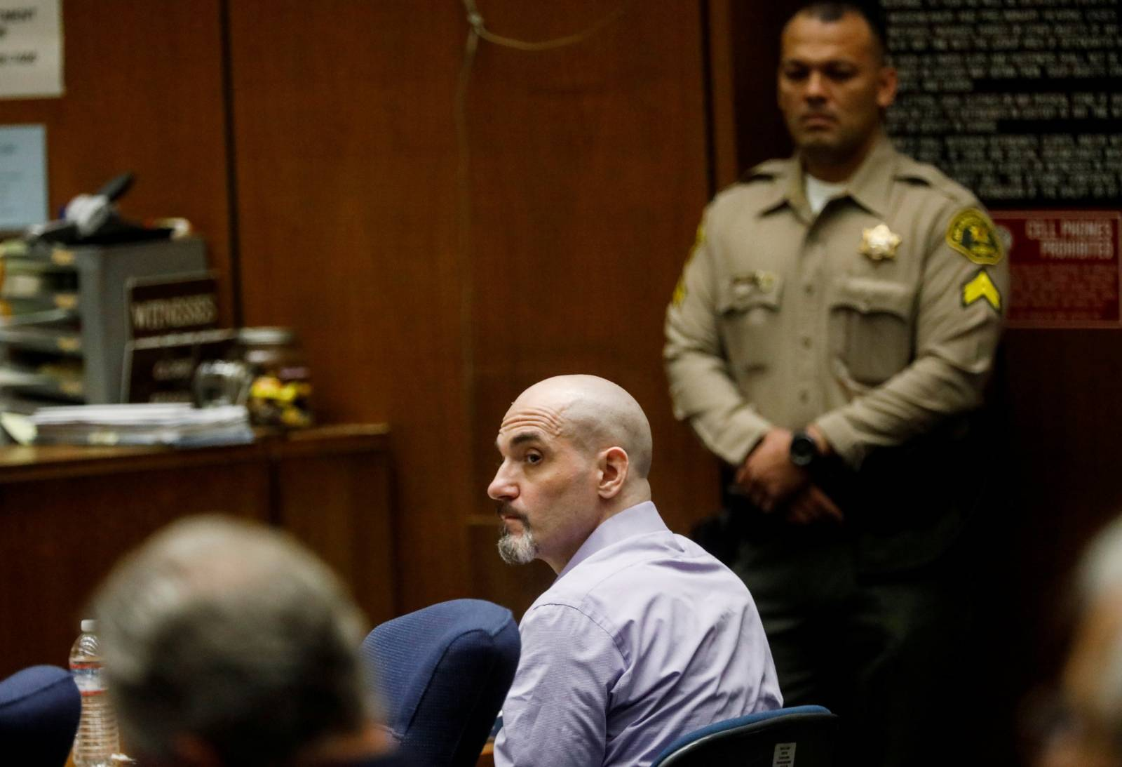 Michael Thomas Gargiulo attends his trial in Los Angeles