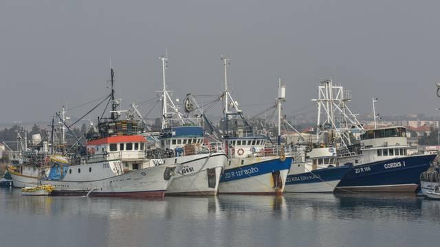 Zadar: Ribari nisu isplovili zbog guste magle tijekom jutra