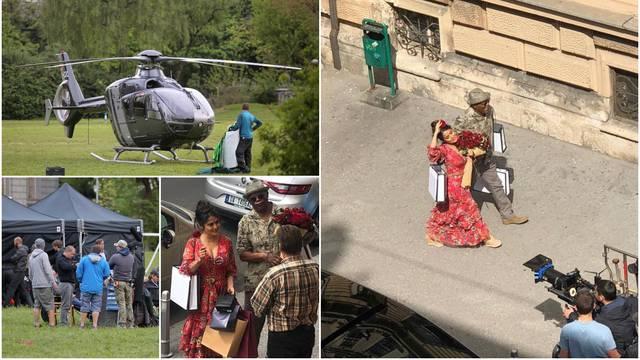Hollywood iza Muzeja Mimara: Helikopter privukao građane...