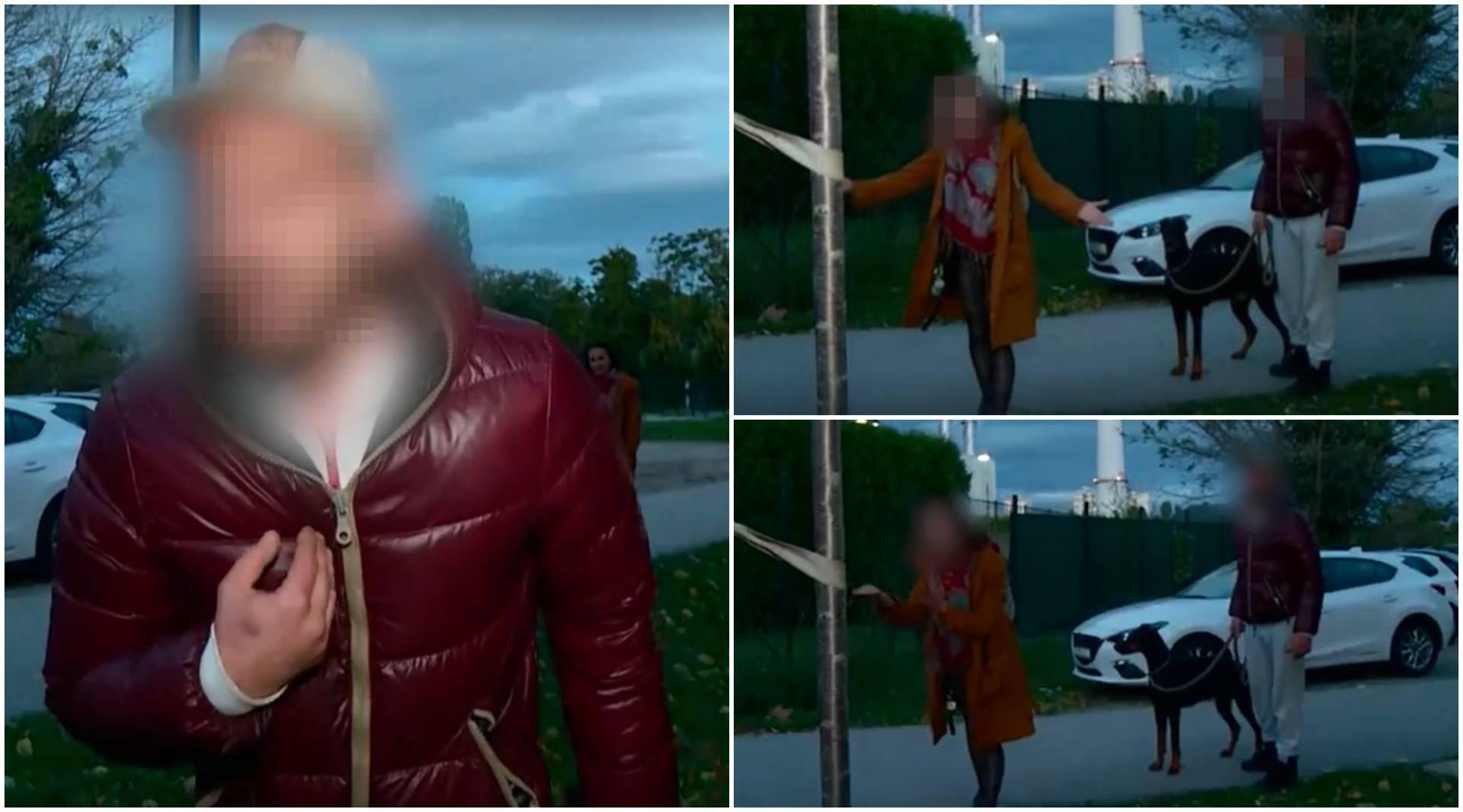 Ovo je pijani par koji je prijetio i vrijeđao Alemku Markotić,  a ranije je napadnut i Vili Beroš