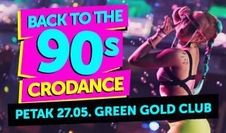 Devedesete se vraćaju u Green Gold: Partijanje uz cro-dance