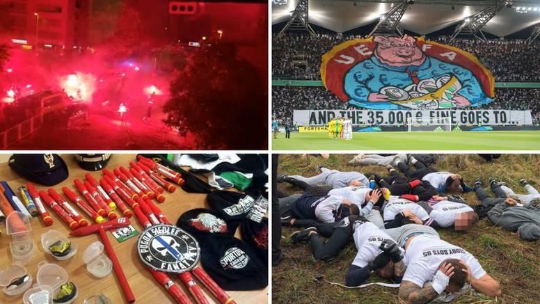 Poljski huligani stigli u grad: Prebili vlastite igrače, treniraju MMA, a tuku se po livadama...