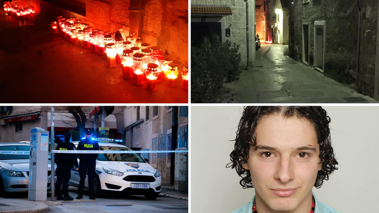 Grad pod Marjanom tuguje: Građani pale lampione na ulici