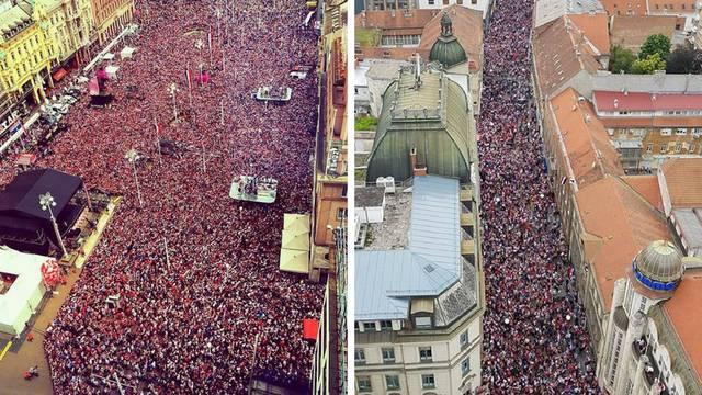Ovo je spektakularno! Svi ovi ljudi u Zagrebu čekaju Vatrene