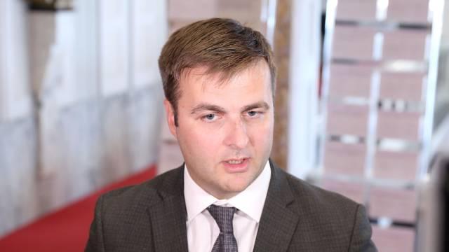 Zagreb: Ministar Tomislav Ćorić komentirao je u Saboru slučaj Dubravka Ponoša