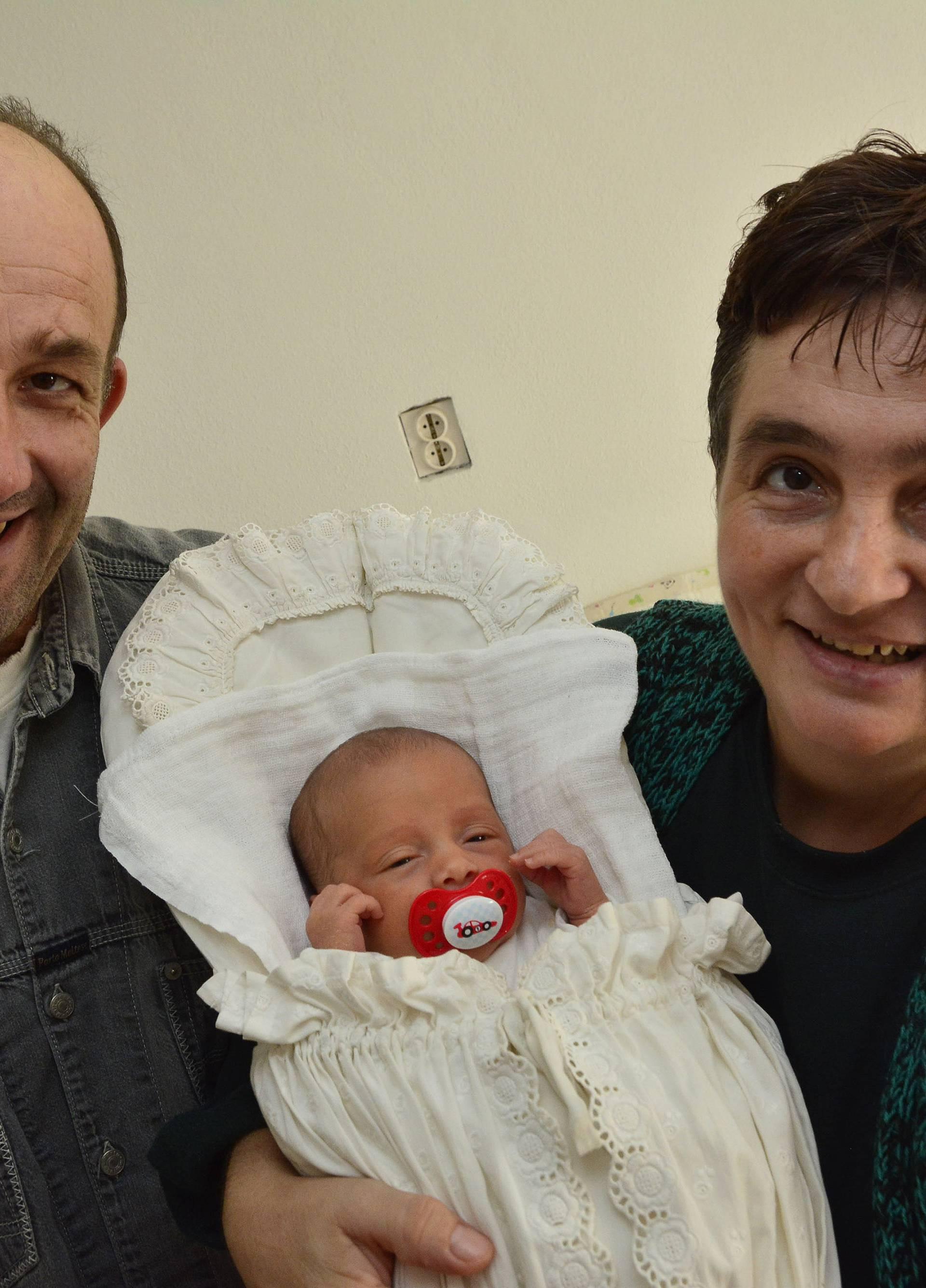 Božji dar: Marija je prvo dijete u našem selu nakon 17 godina