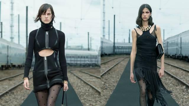 Pankerice u malim crnim chic haljinama potpisuje Givenchy