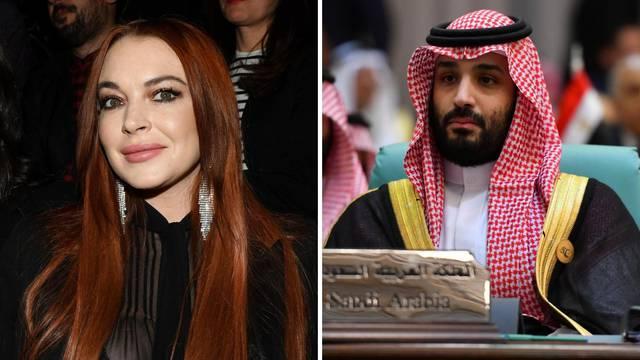 Lohan u vezi s princom: Dao joj je karticu na kojoj ima milijarde