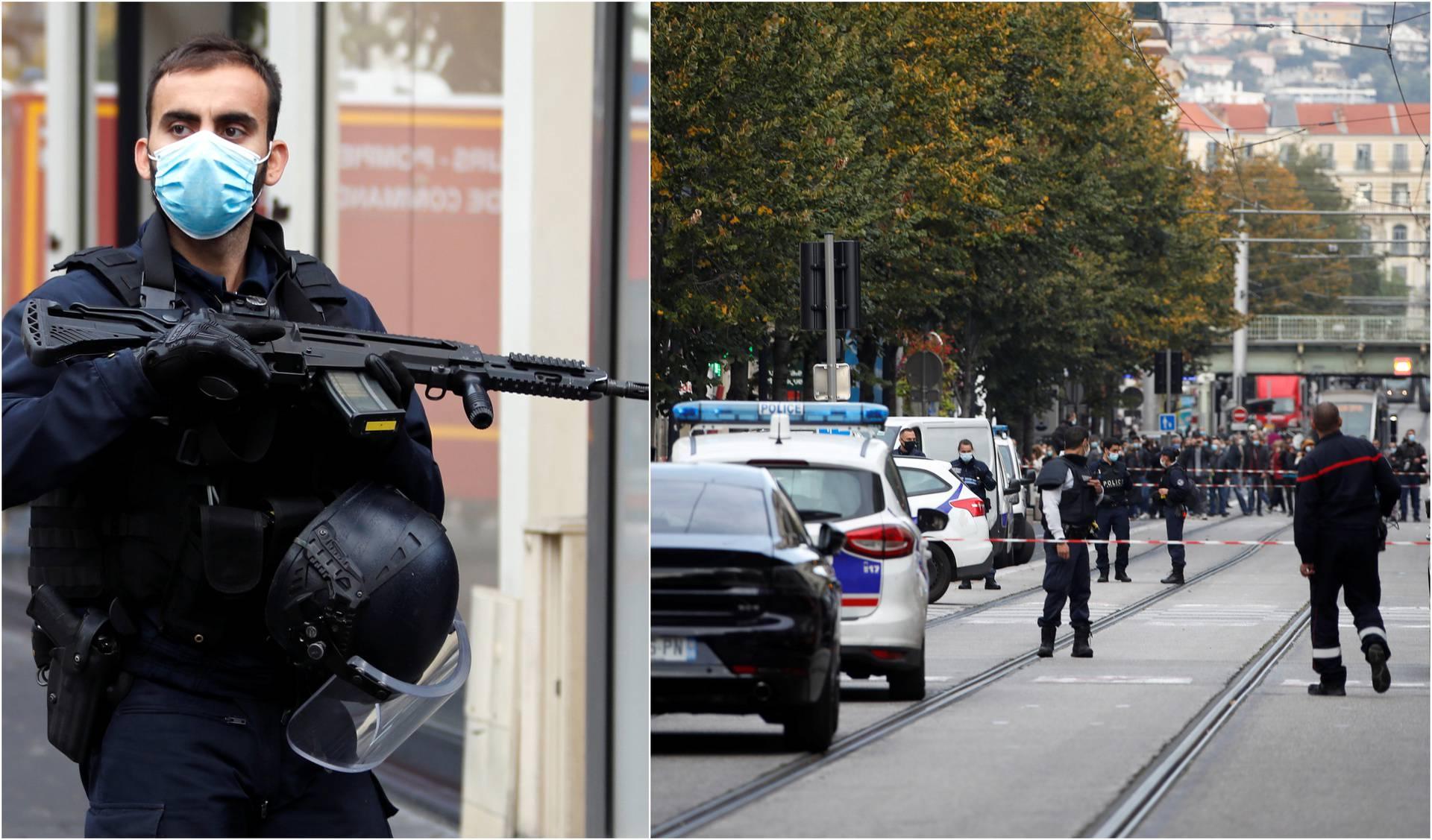 Napad u Nici: Nožem ubio troje ljudi, dvojici odrubio glavu