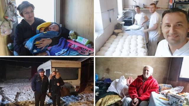 Spavali u prikolici za svinje, iz ruševina spašavali svoju djecu, a sad samo žele sve obnoviti