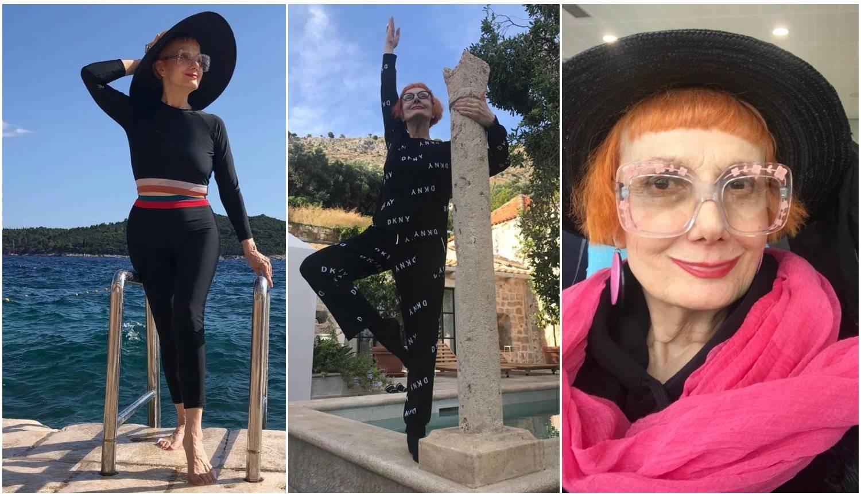 Josipa (69) je kraljica plaže: Za liniju izvodi balet u pidžami