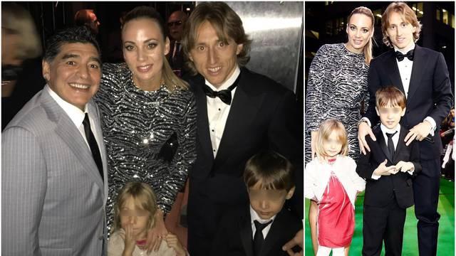 Luka Modrić i supruga oprostili se od Maradone: 'Ti si najveći'