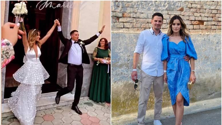 Napokon su dočekali: Reporter Nove TV oženio je novinarku RTL-a pred brojnim kolegama