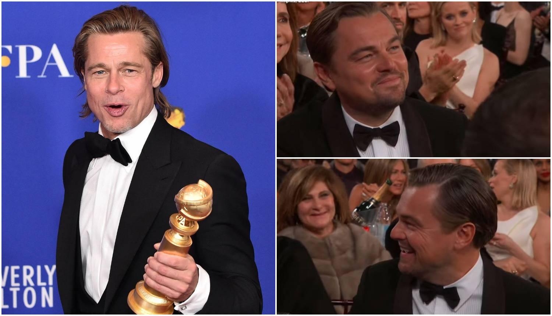 Brad Pitt  zezao DiCaprija zbog 'Titanica': Mi bi podijelili splav