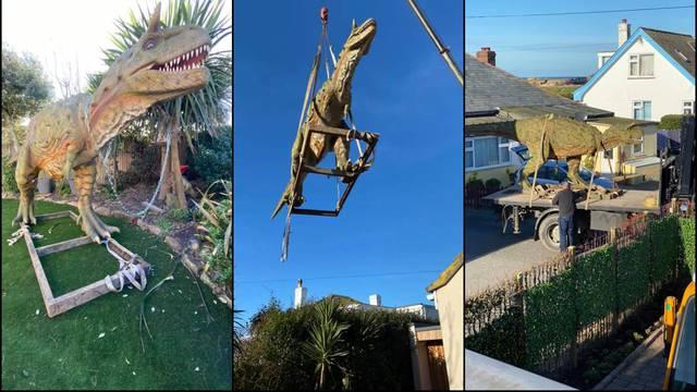 Nije znao: Naručio 'dinosaura' za sina visokog čak 6 metara