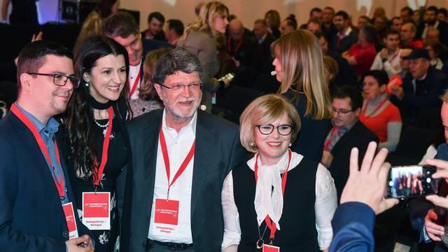 Zagre: Konvencija SDP-a u Hypo centru