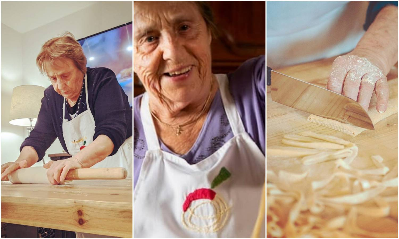 Nona iz Italije sada drži online satove pravljenja tjestenine