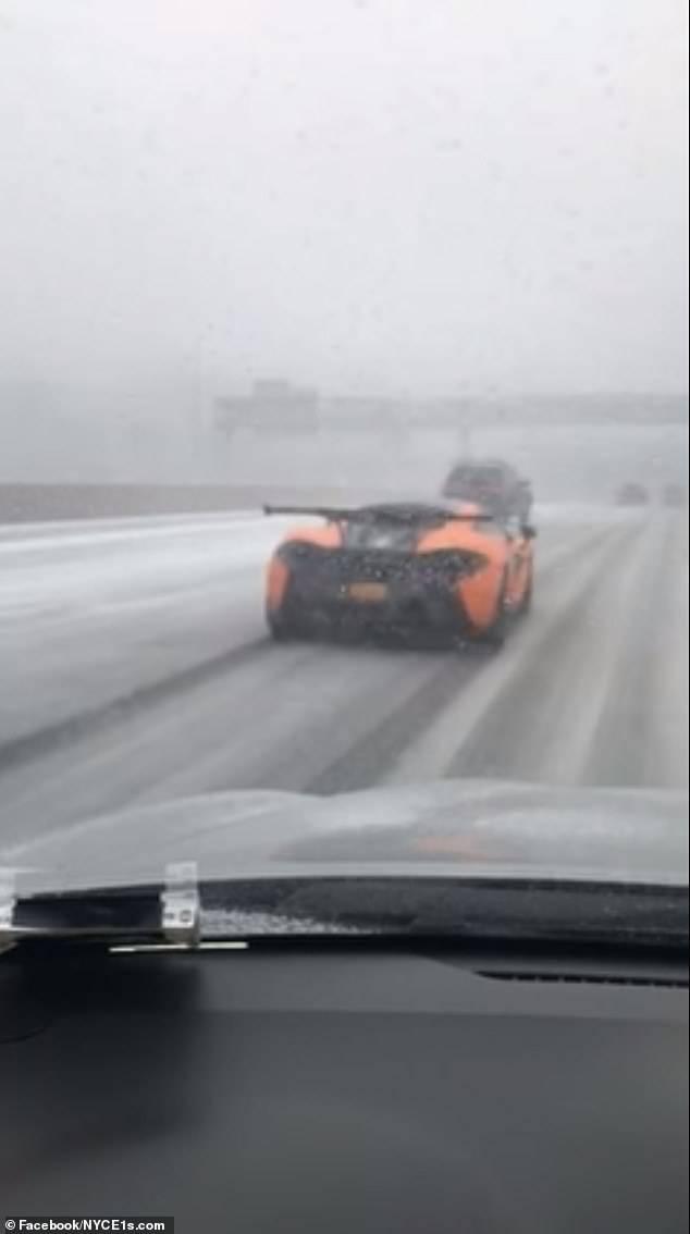 Ne baš tako brz i žestok: Zbog snijega McLaren spor kao puž