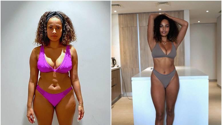 Reality zvijezda dokumentirala svoju veliku transformaciju: 'Izgubila sam 15 cm u struku!'