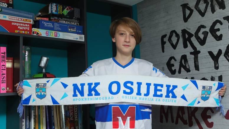 Ponosni Dino (12): Za zadaćnicu sam napisao himnu NK Osijeka