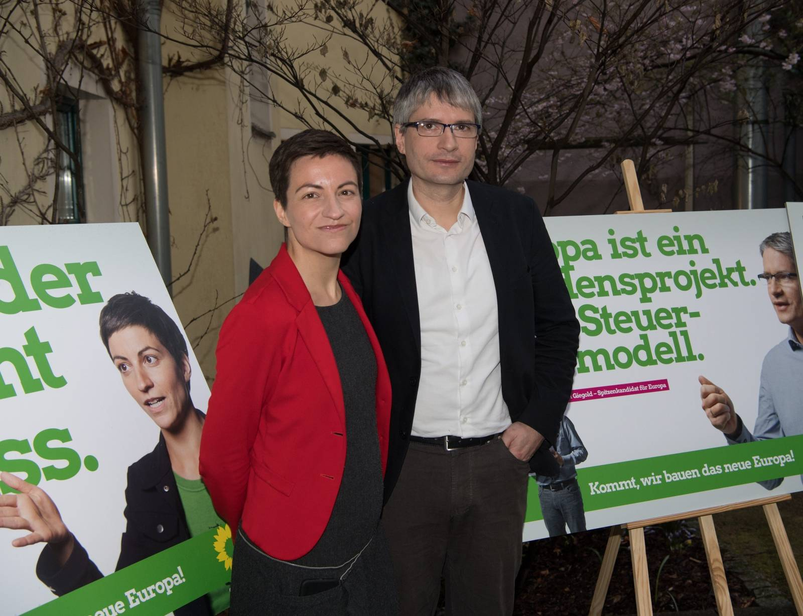 Greens present their campaign for the European elections