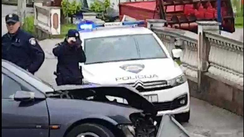 Prometna nesreća u Zaprešiću: Automobilom sletio s ceste