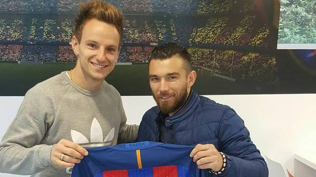 Pranjić stigao u Barcu, Raketa ga je dočekao na Nou Campu...