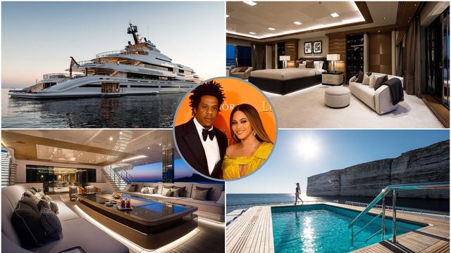 Beyonce je plovila luksuznom jahtom: Tjedni najam je 12 mil. kn. Ima kino, spa centar i bazen