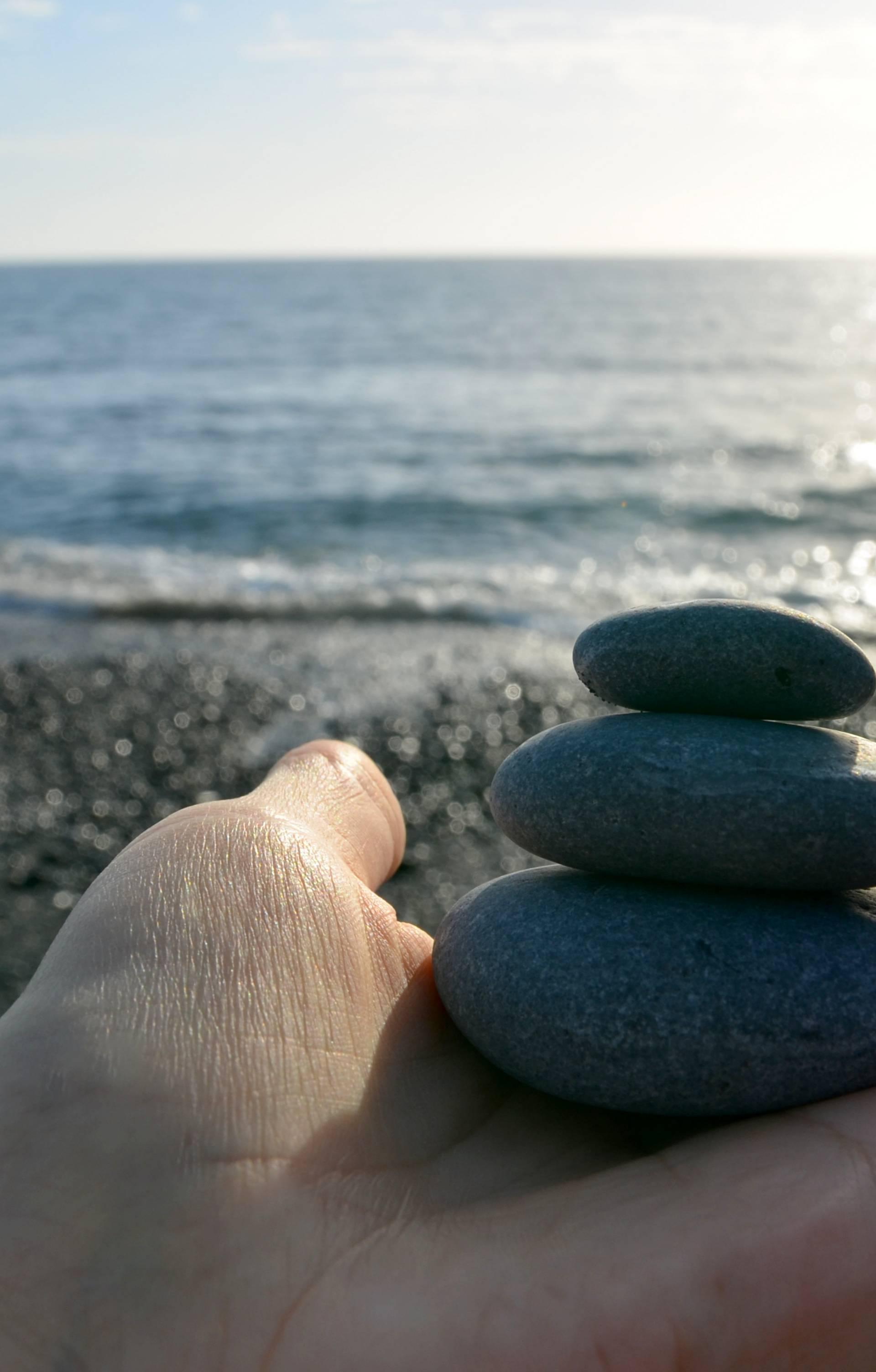Gatanje na plaži: Otkrijte svoju sudbinu - bacanjem oblutaka