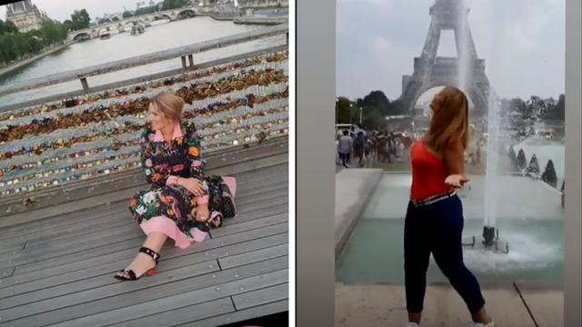 Sve za dobar kadar: Iva Balent se 'izvalila' na pod u Parizu...