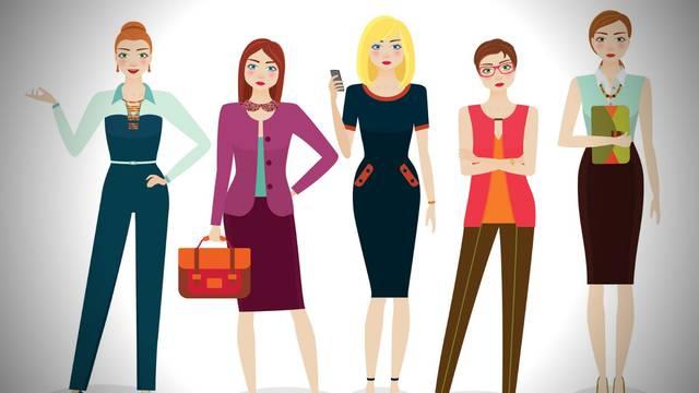 Koja od ovih 5 djevojaka vam je najatraktivnija i što to otkriva?
