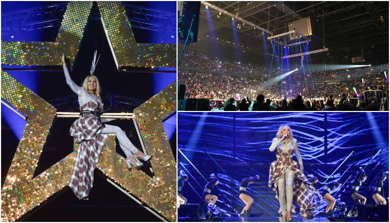 Brena napunila Arenu: Visjela  na zvijezdi, publika je vrištala