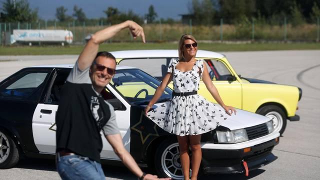 Katarina Baban za volanom kod Jurja Šebalja: 'Ljudi, sklonite se'