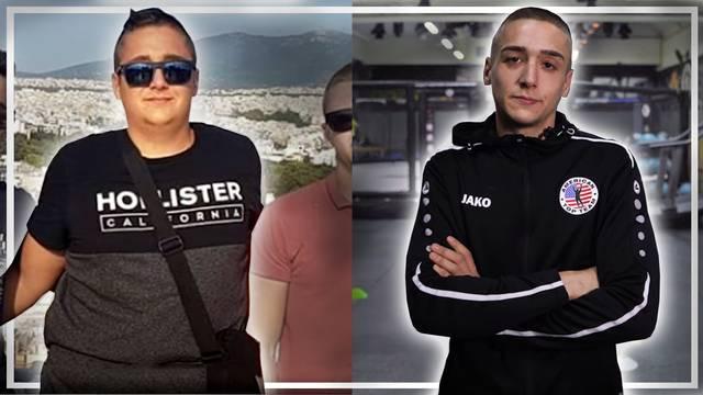 Denis (20): 'Imao sam 130 kg, a  sada sam MMA borac, sve se može samo treba biti uporan...'