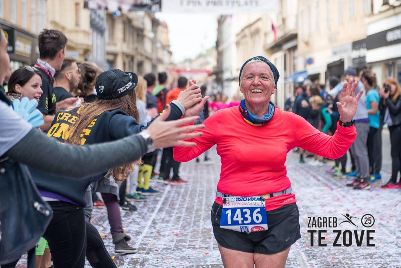 Ljiljana (74) iz Zagreba trči polumaratone: Ne mislim stati