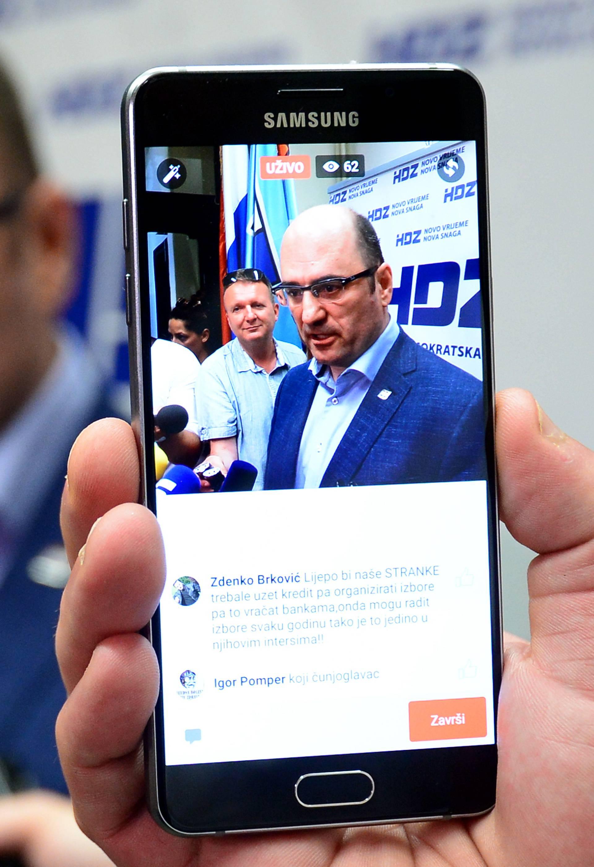 Brkić optužuje SDP. Ali HDZ je taj koji izaziva kaos u državi