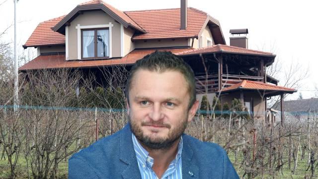 Moja klijet od 300 m2: HDZ-ov dožupan Rosavec izgradio je luksuznu kuću u vinogradu